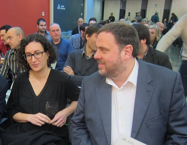 Marta Rovira y Oriol Junqueras, ERC