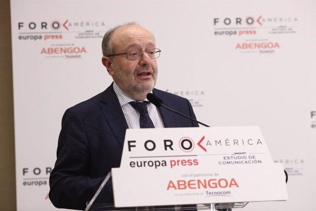 Fernando García Casas, secretario de Estado de Cooperación Internacional