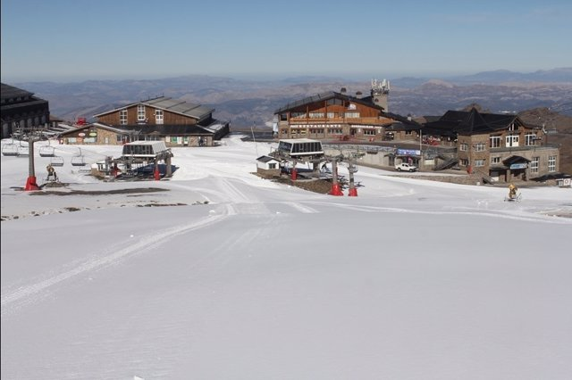 Estado actual de la estación de esquí de Sierra Nevada