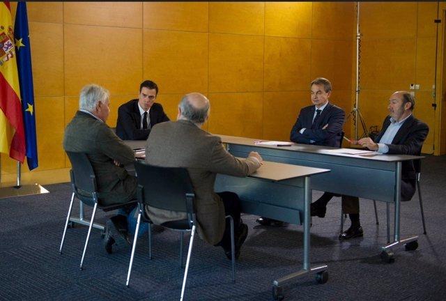 Pedro Sánchez, Zapatero, González,