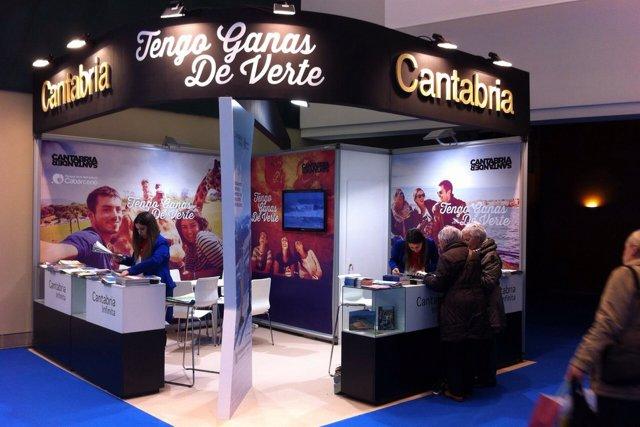 Stand de Cantabria en Sevatur