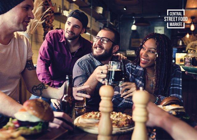 Imagen promocional del mercado gastronómico de Calvià