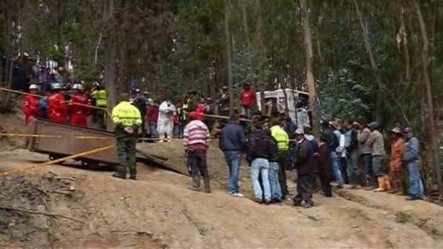 Explosión en una mina de Colombia
