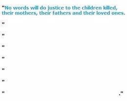 Comunicado en blanco de UNICEF