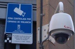 Cámara De Videovigilancia De Madrid