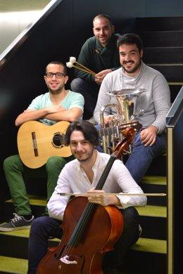 Jaime Miguel, Eduardo Gil, Rubén Amatriain y Javier Yera.
