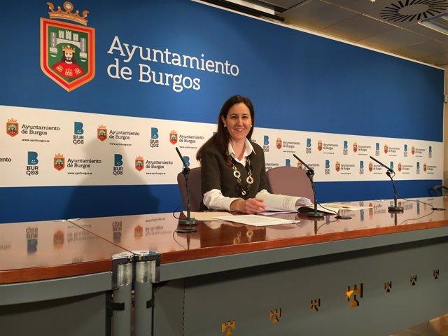 Gema Conde, concejal de Servicios Sociales.