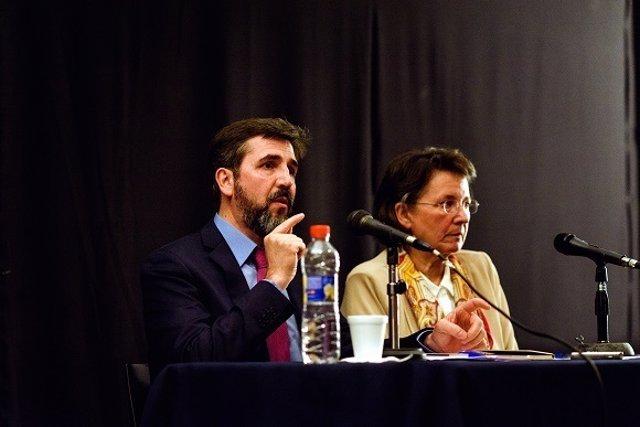 María Ibáñez Goicoechea y Jesús Jiménez Cascallana
