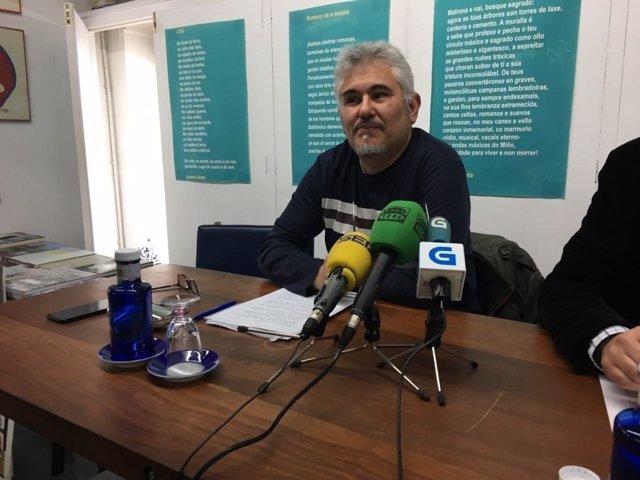 Concejal de Lugonovo que se va, Iñaki García