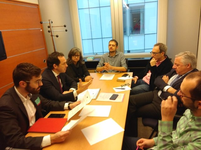 Pons en Parlamento Europeo