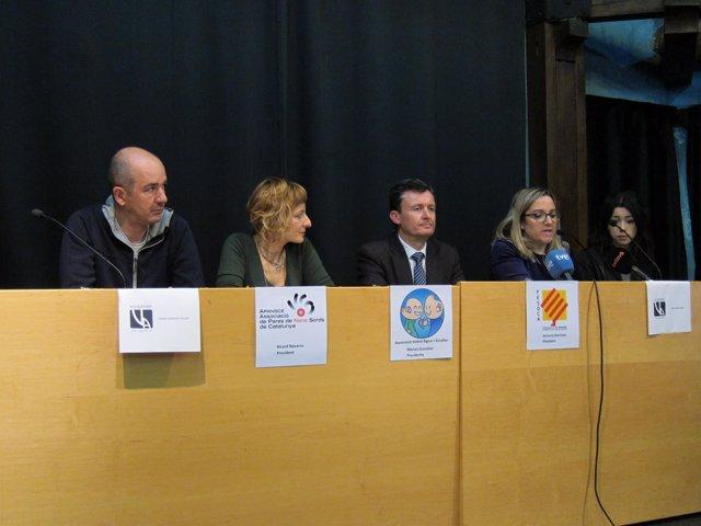 R.Navarro, A.Martínez, M.González, L.López y M.Calaf