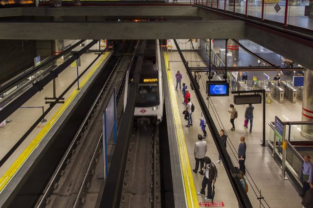 Metro de Madrid, estación de Nuevos Ministerios