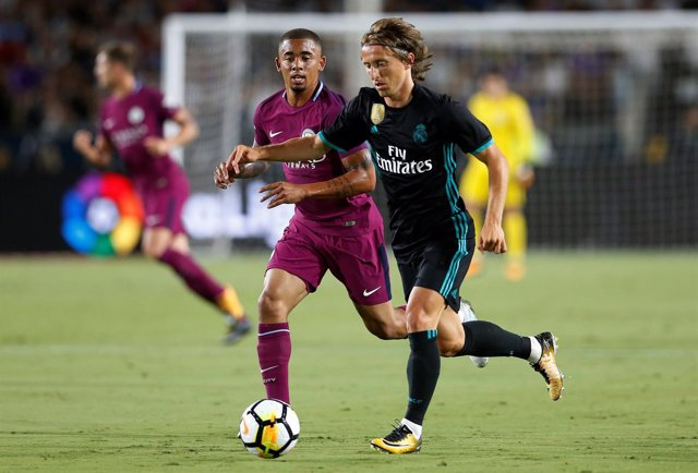 Modric en el Real Madrid - Manchester City