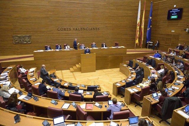 Pleno de Corts Valencianes