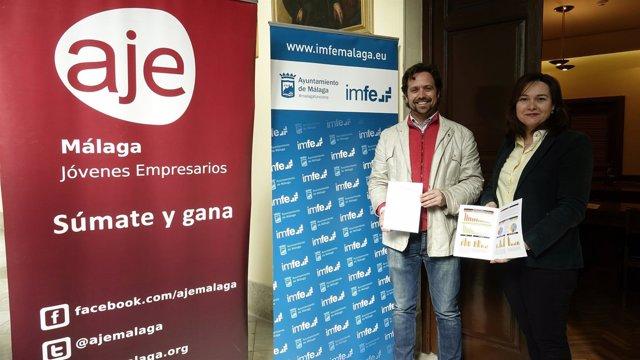 Presentación Termómetro del Emprendimiento Málaga capital de IMFE y AJE.