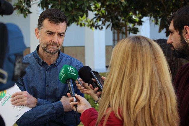 Antonio Maíllo, hoy ante los medios