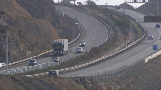 Autovía del Mediterráneo (A-7) entre Aguadulce y Almería