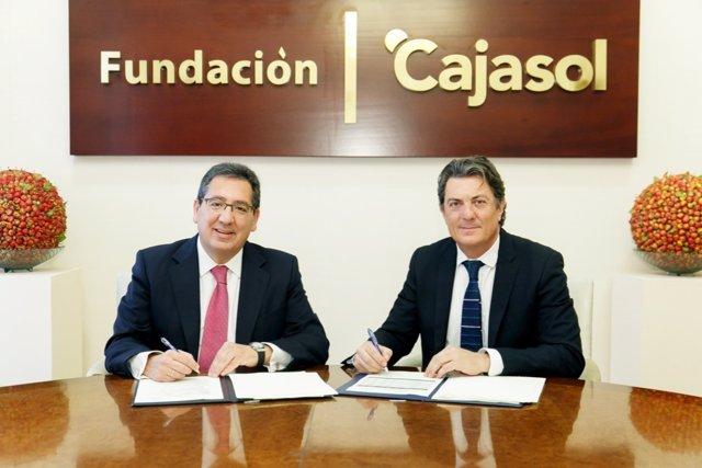 Fundación Cajasol se suma al proyecto 'Reactiva tu Club'