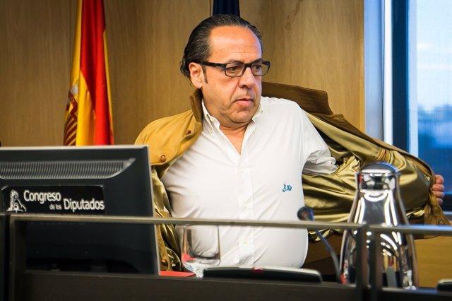 Álvaro Pérez 'El Bigotes' comparece en la comisión de investigación sobre el PP