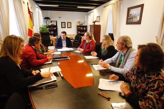 Reunión del PP-A con la Federación Andaluza de Diabéticos