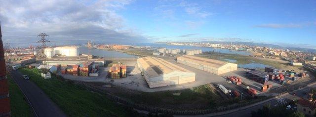 Musel, Gijón, puerto.