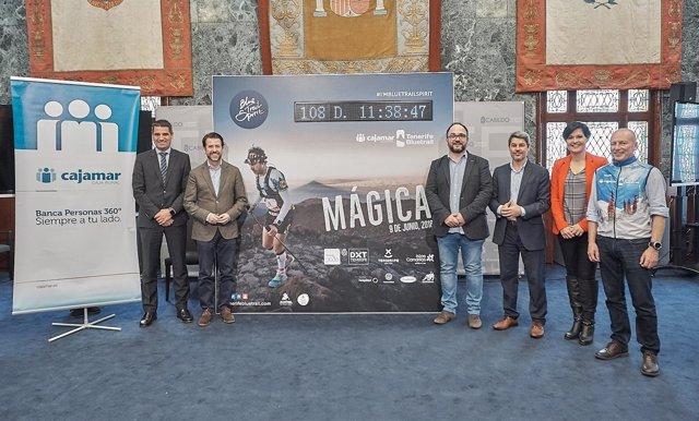 Nota De Prensa Y Fotografía: Deportes Cajamar Tenerife Bluetrail 2018