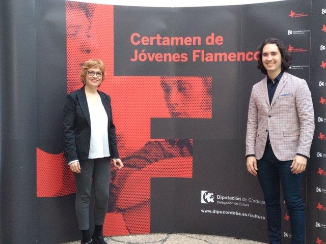 La delegada de Cultura, Marisa Ruz, presenta el Certamen de Jóvenes Flamencos