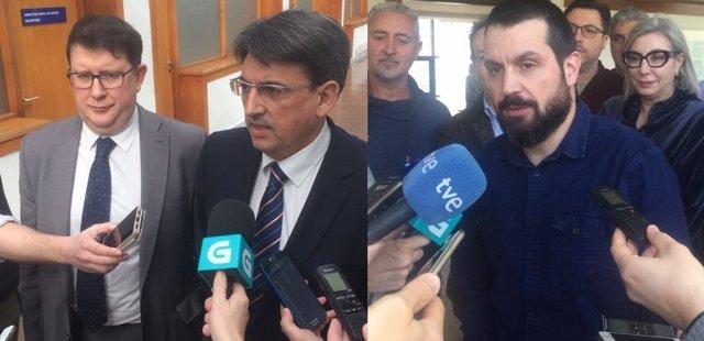 Negociaciones por la huelga de justicia jornada del 20 de febrero