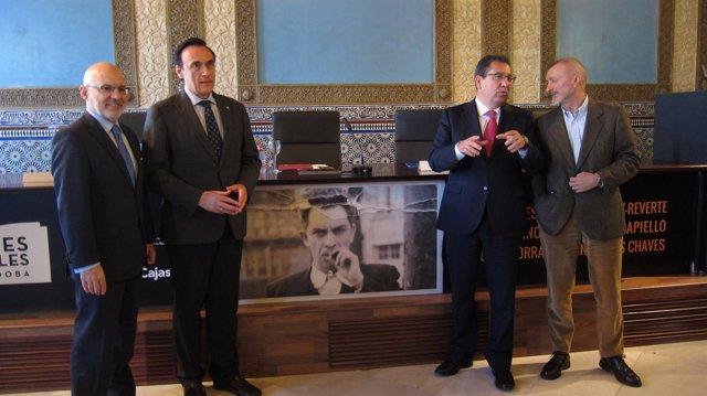 Presentación de la jornada de la Fundación Cajasol sobre Chaves Nogales