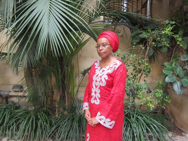 La activista burundesa Marguerite Barankitse