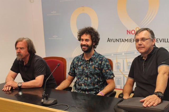 Julián Moreno en rfueda de prensa