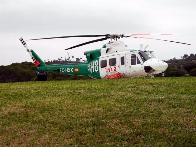 Helicóptero del Infoca
