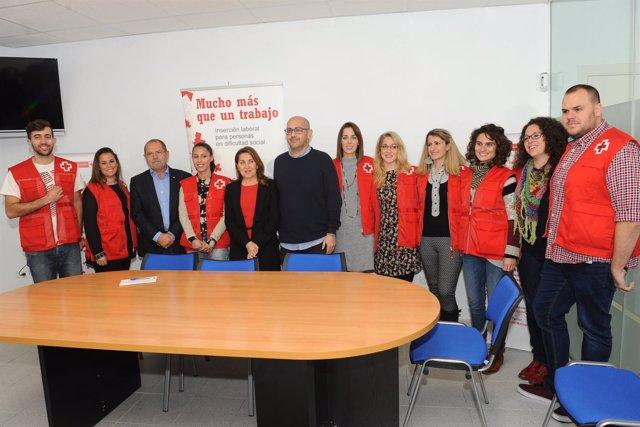 Centro Inclusión Social para personas sin hogar convenio con Cruz Roja y Marbell