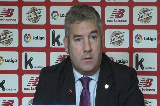 Josu Urrutia, presidente del Athletic