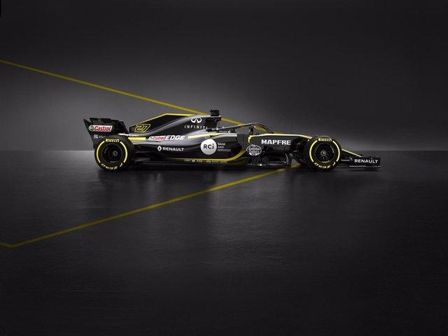 Coche de Renault para la temporada de 2018