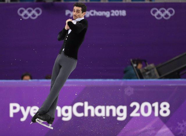 Actuación de Javier Fernández en los JJOO de Pyeongchang