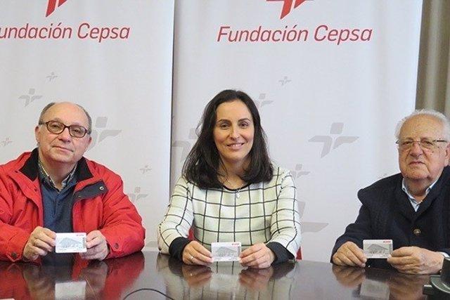 Cepsa Entrega Cheques-Combustibles Al Banco De Alilmentos En Campo De Gibraltar
