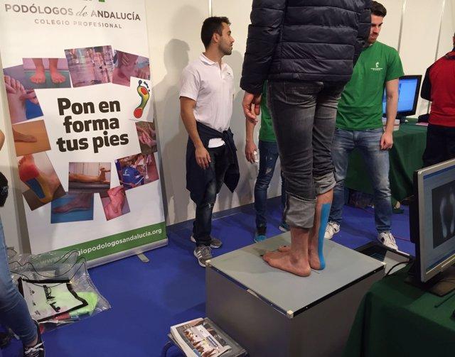 Cerca de 50 podólogos atenderán a los corredores en el Zurcih Maratón
