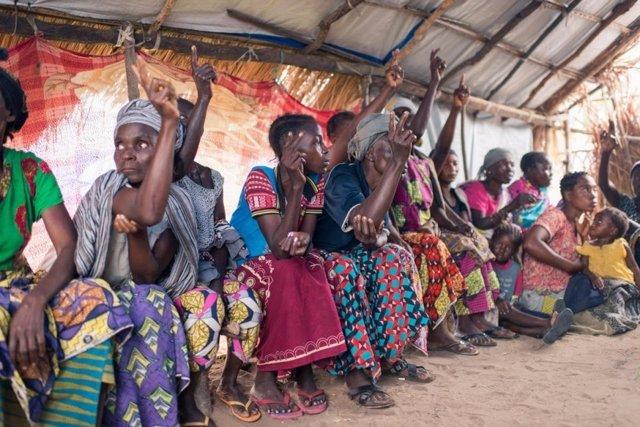 Desplazados por la violencia en Tanganyika (RDC)