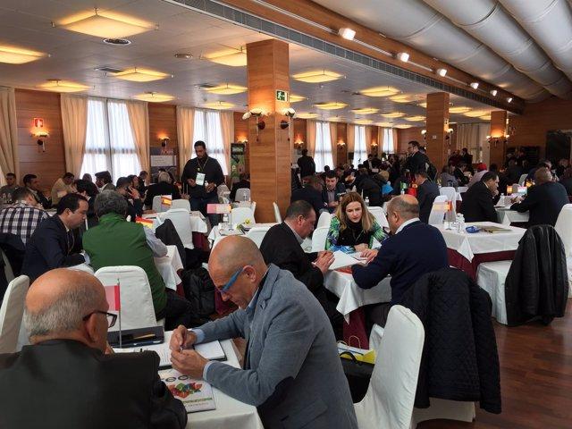 AGRAGEX organiza una reunión con una delegación comercial agropecuaria africana