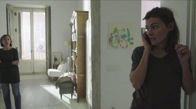 Fotograma del cortometraje Madrid
