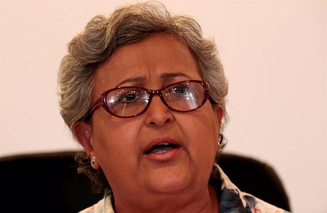 La presidenta del Consejo Nacional Electoral de Venezuela, Tibisay Lucena