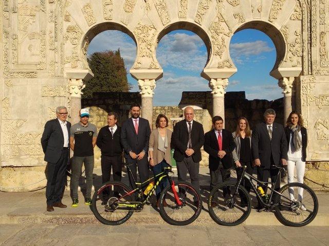 Autoridades presentan la octava Andalucía Bike Race