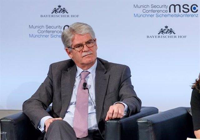 Dastis en la Conferencia de Seguridad de Munich