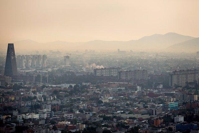 Contaminación la Ciudad de México