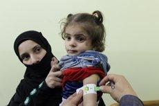 """Ghouta Oriental s'ha convertit en una """"sentència de mort"""" per als nens, segons diverses ONG ( UNICEF/TOM/OCHA)"""