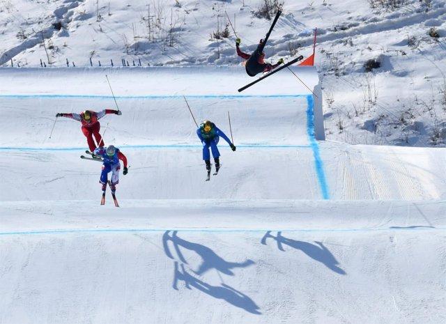La caída de Christopher Delbosco en los Juegos de Pyeongchang 2018