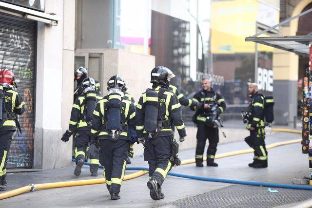 Bomberos de Madrid, bombero