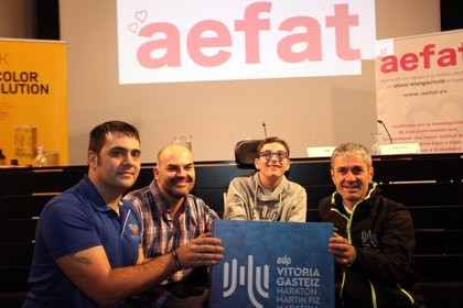Aefat organiza un reto solidario en laMaratón Martín Fiz para dar visibilidad a ataxia telangiectasia