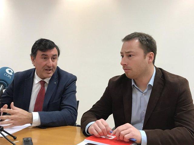 Fernández Mañanes y Jorge Gutiérrez presentan las convocatorias de ayudas